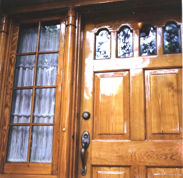 Varnished Entryway & Custom Woodwork Florida | Custom Carpentry | Custom Woodworking ... pezcame.com