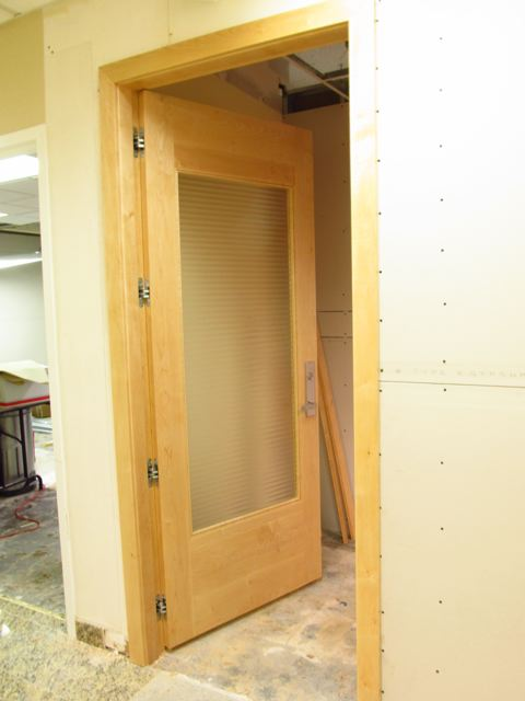 Custom Carpentry Miami, FL | Office Door