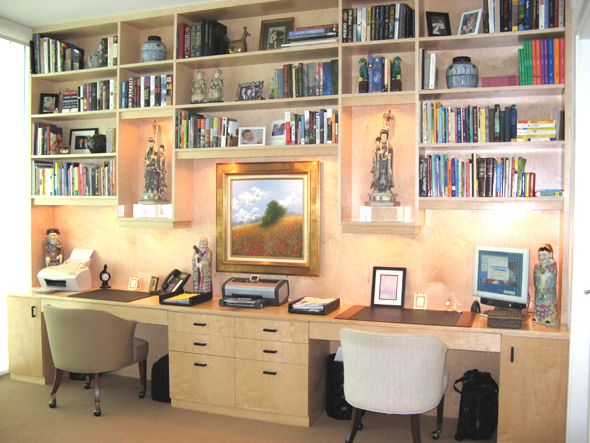 Home Office And Shelving Homeoffice1