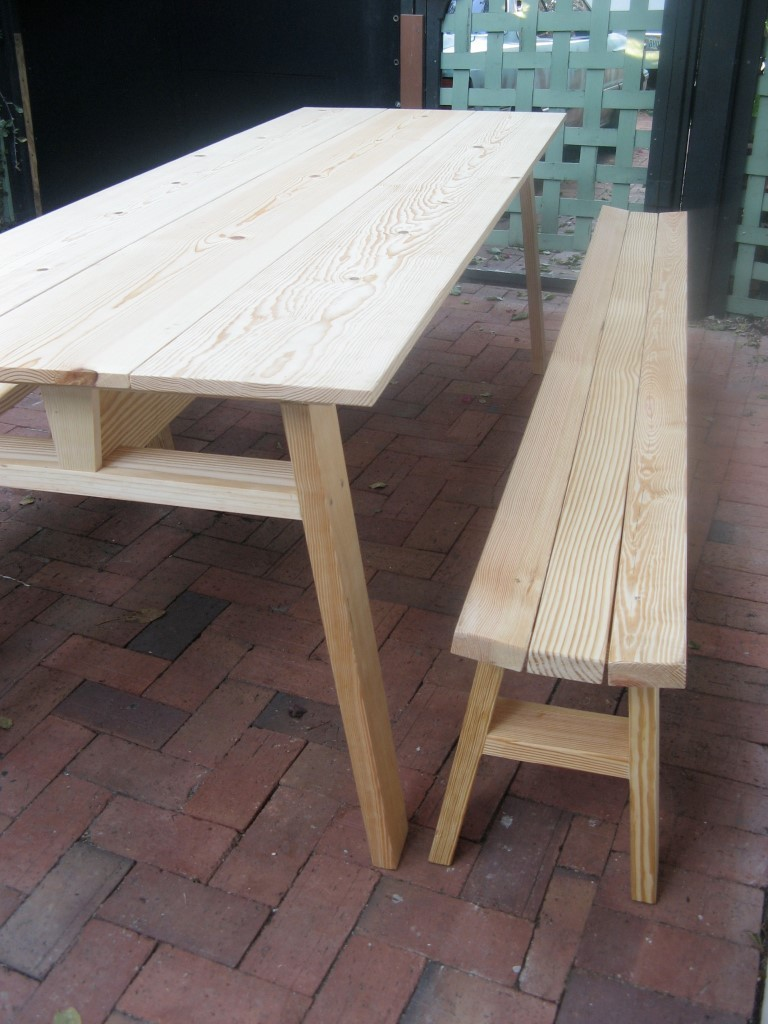 Backyard Picnic Table custom made all sizes