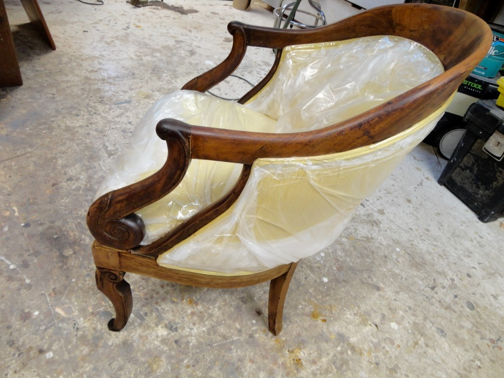 ChairRefinishing-Before Staining and Varnish