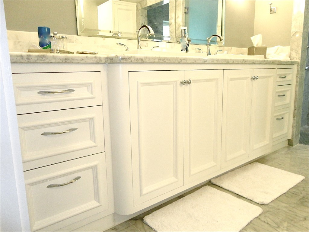 Custom Bathroom Vanity double sink