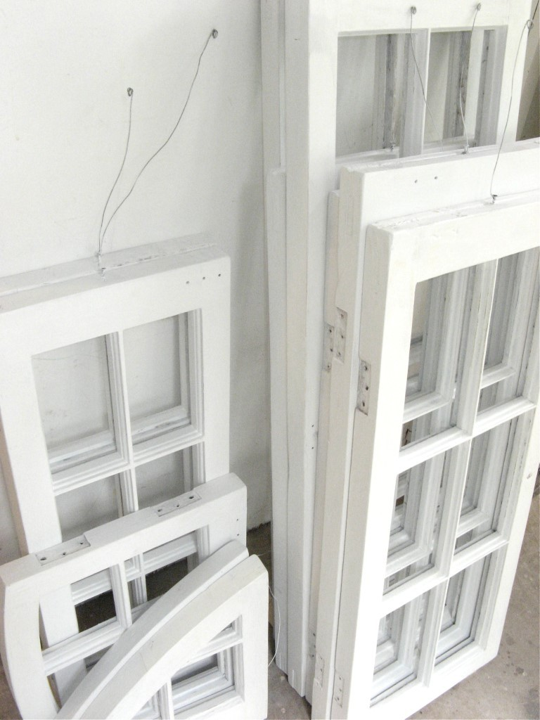 Old Wood frame windows After restoration